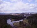 """Вид на Североуральск со скалы """"Три брата"""""""