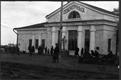 Железнодорожный вокзал в Североуральске.