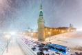 Снегопад в столице