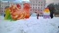 Год петуха на главной площади Североуральска