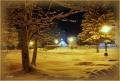 Вечерний снег