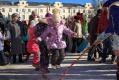 Детские забавы на проводах зимы