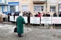Пикет представителей малого бизнеса против повышения соцналога на 150%.