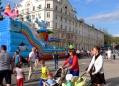 Городской праздник на центральной площади