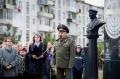 Открытие памятника Герою России Дмитрию Шектаеву