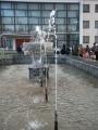 Пробный пуск фонтана