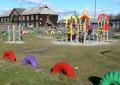 Новая детская площадка в посёлке Покровск-Уральский