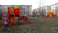 Новая детская площадка в 7 микрорайоне
