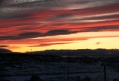 Закат над посёлком Горный